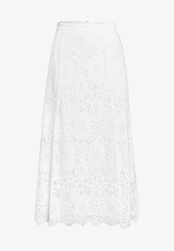 A-line skirt - snow white