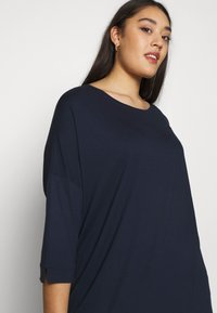 MY TRUE ME TOM TAILOR - BATWING WITH CUFF DETAIL - Topper langermet - real navy blue - 4