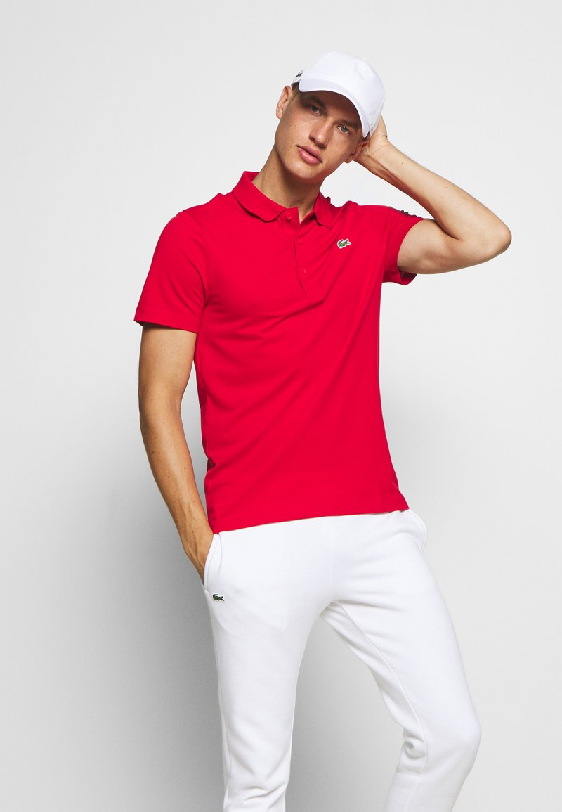 Lacoste Sport - CLASSIC KURZARM - Polo - red