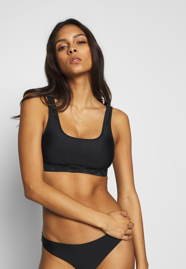 SCARLETT WOMEN SPORT - Bikini top - black
