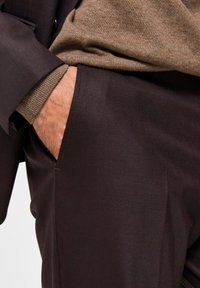 Selected Homme - Suit trousers - winetasting - 4