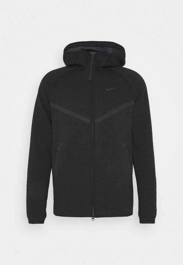Nike Sportswear HOODIE - Bluza rozpinana - black/anthracite/czarny Odzież Męska NCXH