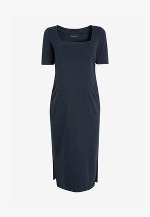MATERNITY - Maxi dress - dark blue