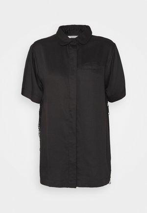 FREYA SHORT - Pyjama top - black