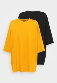 Missguided Tall - T-shirt basic - yellow - 4