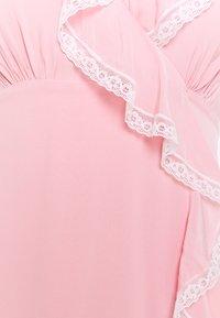 Alexa Chung - RUFFLE DRESS - Freizeitkleid - pink - 5