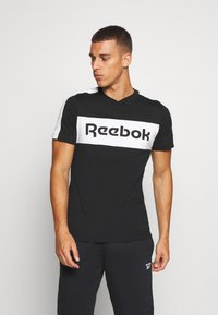 Reebok - GRAPHIC TEE - T-shirts print - black - 0