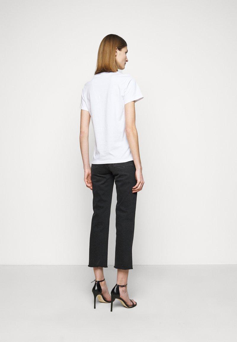 Pinko - ESTIMO - T-shirt imprimé - radiant white