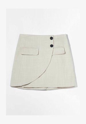 A-line skirt - stone