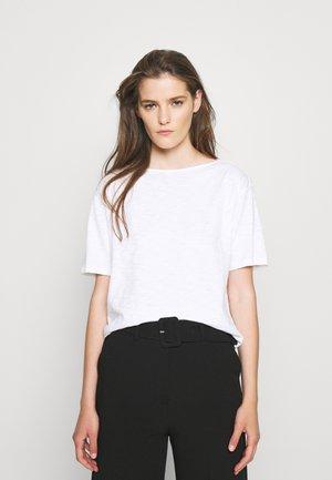 STRAIGHT TEE NEBULOU - T-Shirt basic - white