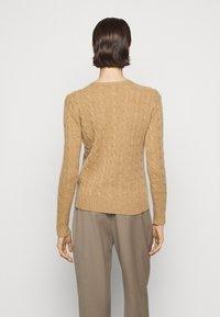 Polo Ralph Lauren - JULIANNA  - Jumper - luxury beige heat - 2
