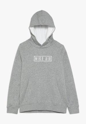 AIR HOODIE - Hoodie - dark grey heather/summit white