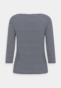 More & More - STRIPED SHIRT - Long sleeved top - marine multicolor - 1