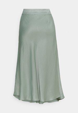 EDDY NEW SKIRT - A-line skirt - green milieu