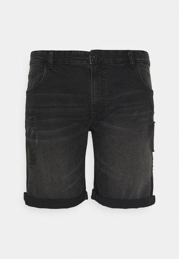 USOLSSON DESTROY - Jeansshort - sbit black