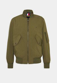 LIGHT WEIGHT - Bomber Jacket - moss green
