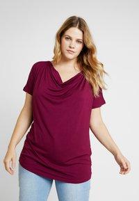 Zalando Essentials Curvy - T-shirt basic - purple potion - 0