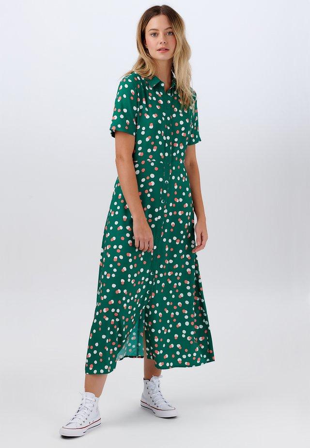 DANIELLE DAPPLED SPOT - Maxi-jurk - green
