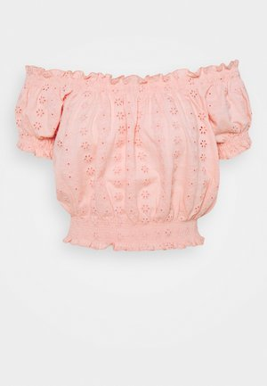 ONLNILA - T-shirt basic - peach melba
