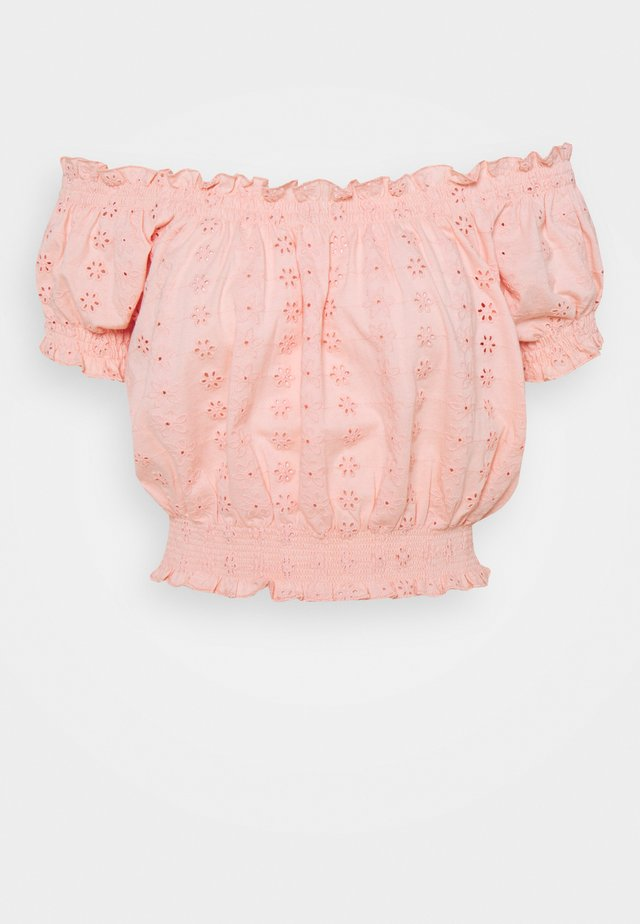 ONLNILA - T-shirts - peach melba