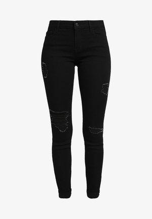 Jeans Skinny Fit - black destroyed