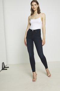 Lee - SCARLETT HIGH - Jeansy Skinny Fit - worn ebony - 2
