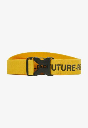 Belt - mustard yellow