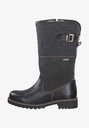 Vysoká obuv - black comb 98