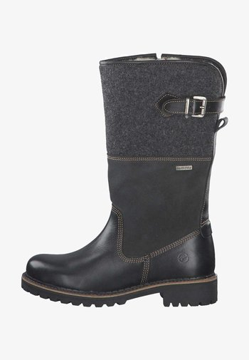 Boots - black comb 98