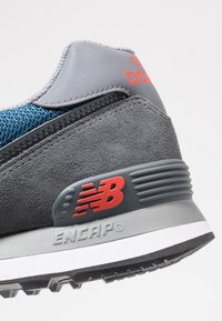 New Balance - ML574 - Matalavartiset tennarit - grey/blue - 5