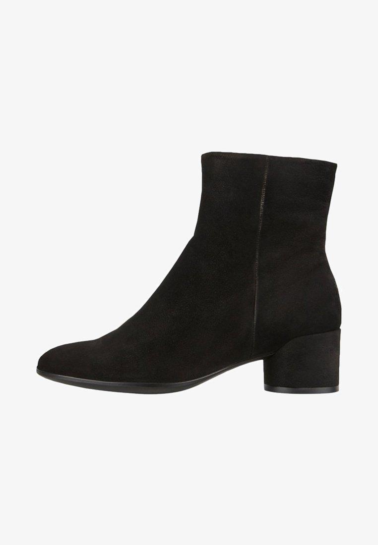 ECCO - SHAPE MOD BLOCK - Korte laarzen - black