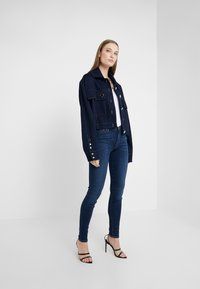 7 for all mankind - ILLUSION LUXE LOVESTORY - Jeans Skinny Fit - mid blue - 1