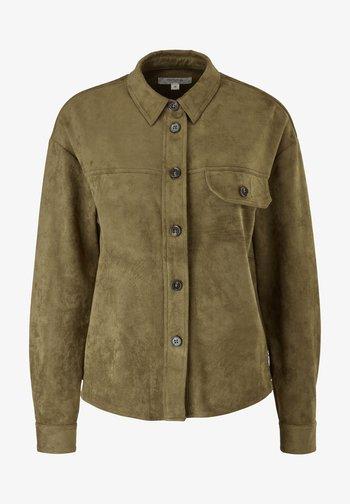 SOFTE - Button-down blouse - khaki