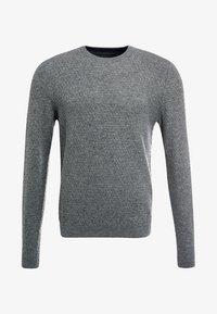 Pier One - Stickad tröja - mottled grey - 5