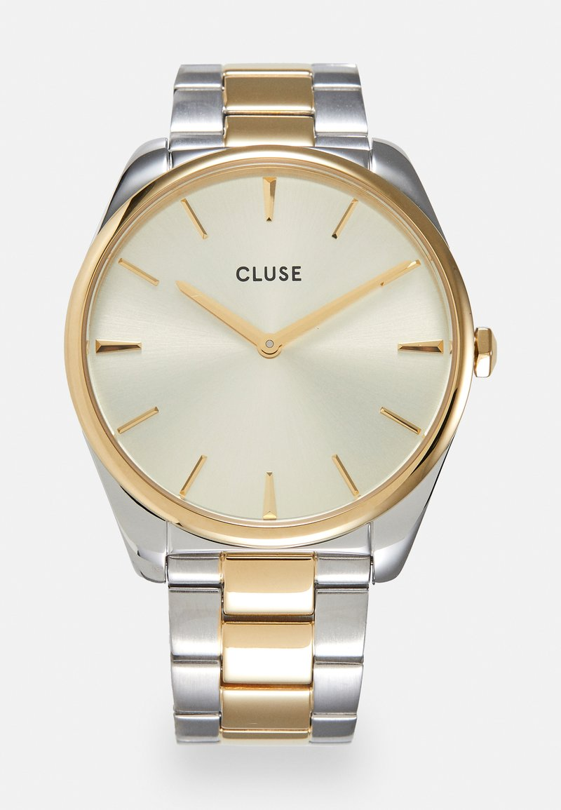 Cluse - FEROCE - Klokke - silver-coloured/soft gold-coloured
