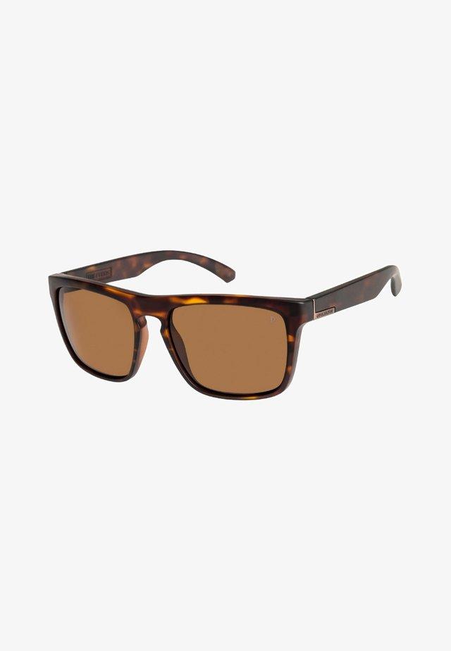 THE FERRIS POLARISED  - Sunglasses - matte tortoise/brown hd polari