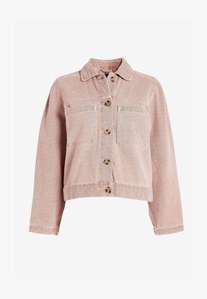 Denim jacket - light pink