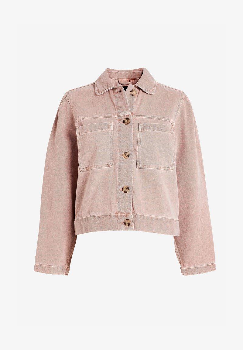 Next - Denim jacket - light pink