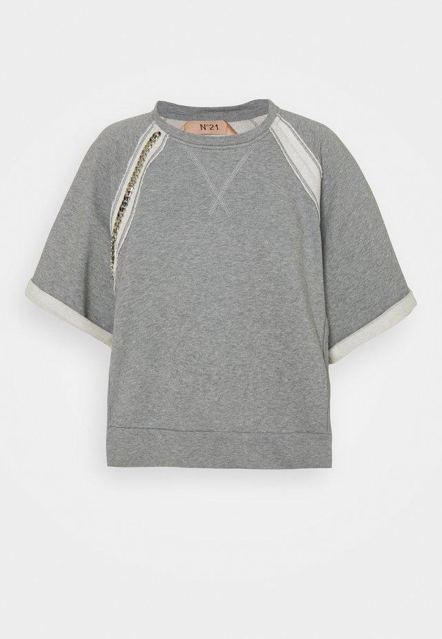 TAPED  - Sweater - grey