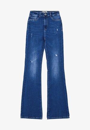 Široké džíny - blu