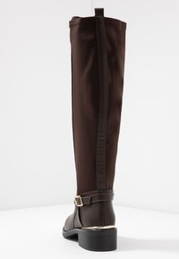 Dorothy Perkins Wide Fit - WIDE FIT KIKKA FORMAL RIDING BOOT - Bottes - choc - 5