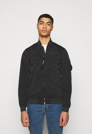 OUTERWEAR SHORT JACKET - Lehká bunda - black