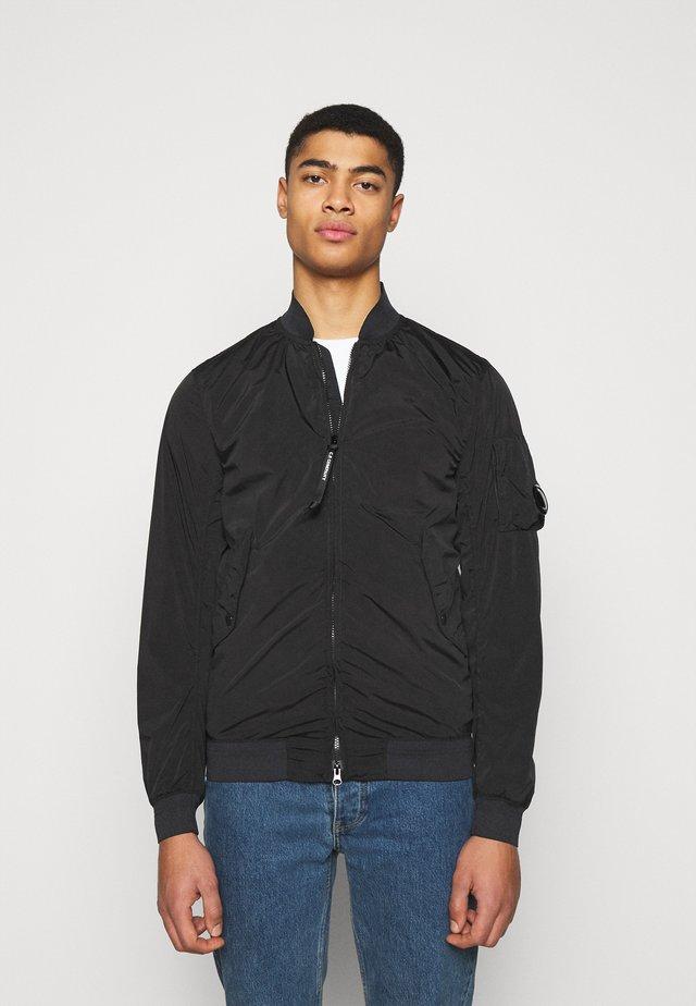 OUTERWEAR SHORT JACKET - Summer jacket - black