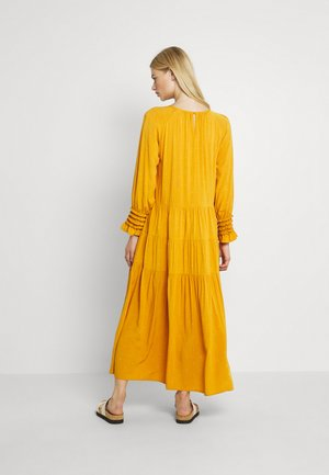 YASINCA DRESS - Długa sukienka - yellow