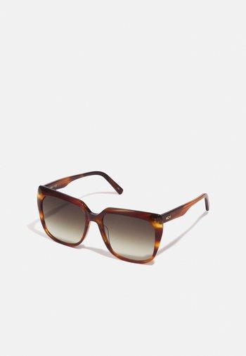 Sunglasses - cognac
