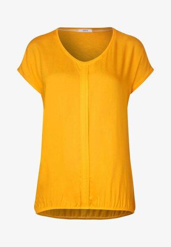 Blouse - mango yellow