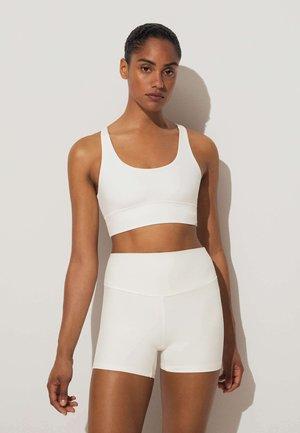 COMFORTLUX HOT PANTS - Collant - white
