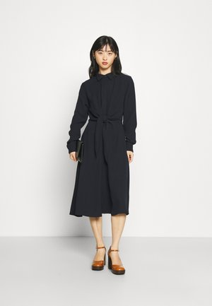 KAHWELL LONG SLEEVE CASUAL DRESS - Day dress - navy