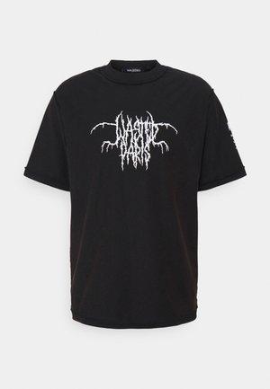 CULT FADED UNISEX - T-shirt med print - black