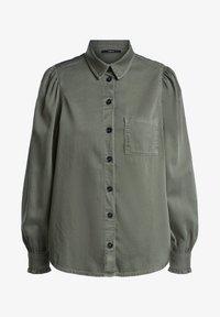 SET - Button-down blouse - khaki - 5